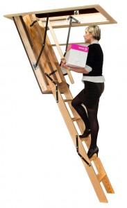 Stira Heavy Duty Folding Attic Stairs