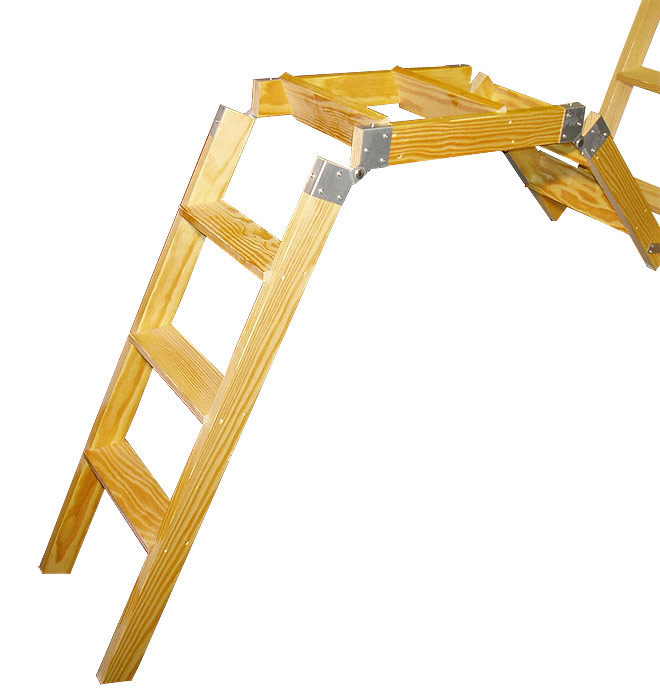 Double action stira ladder