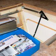 photos in the attic