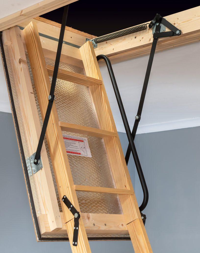 Attic: Create Your Favorite And Unique Attic With Attic ... |Door Attic Ladder Parts
