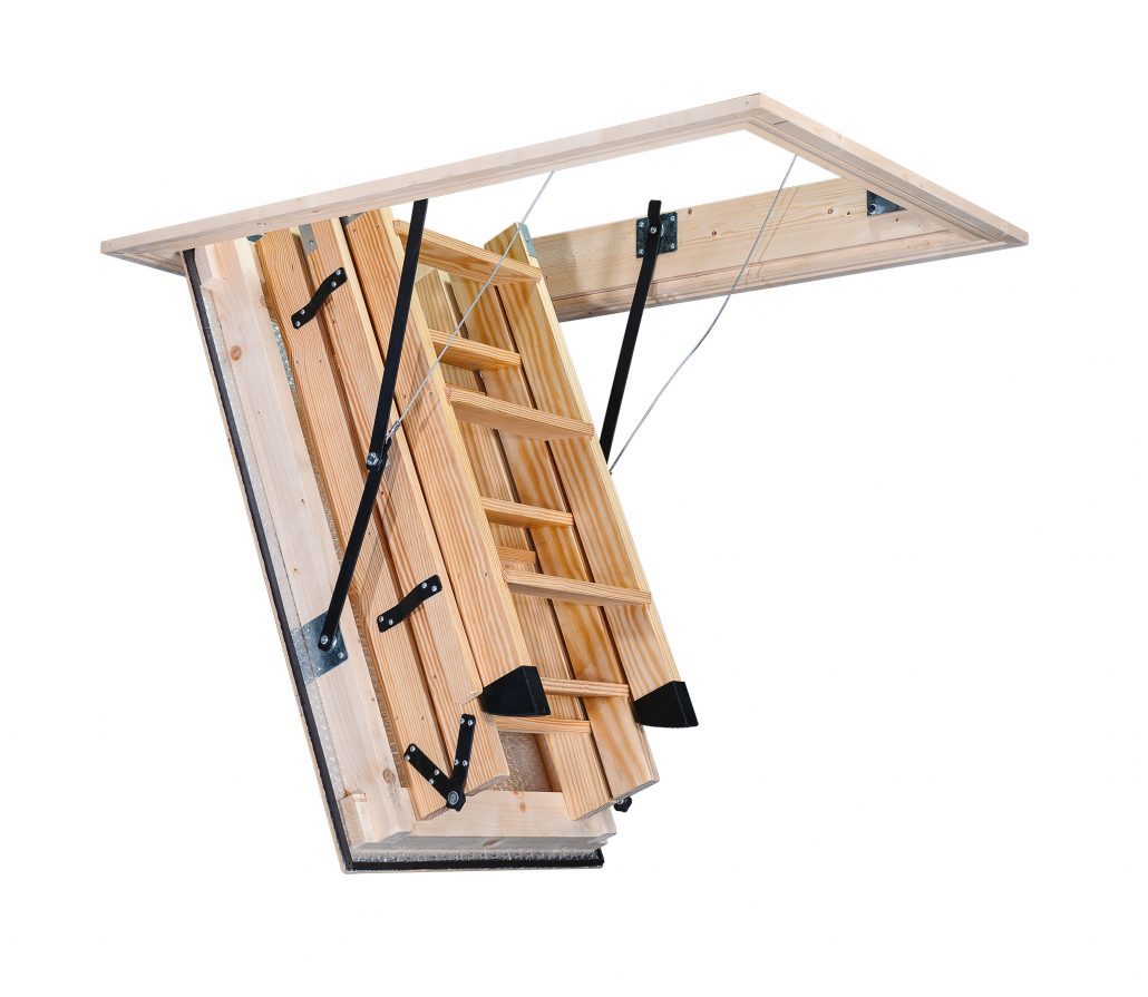 Stira folding attic stairs