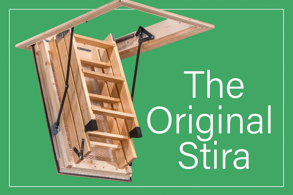 The Original Stira Folding Attic Stairs loft ladder