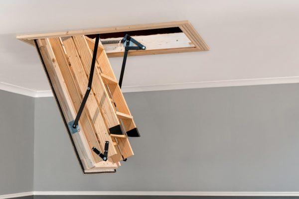 stira half open attic stair